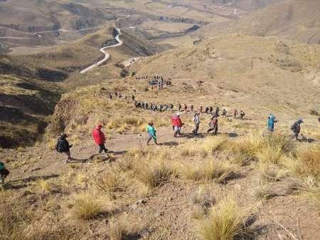 Caminaron más de 200 km para renovar su pacto de fidelidad al Señor y la Virgen del Milagro.