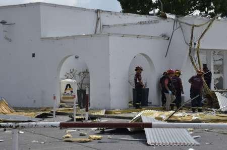 Fotos exclusivas: Los estragos que ocasionó la explosión en el CCM.