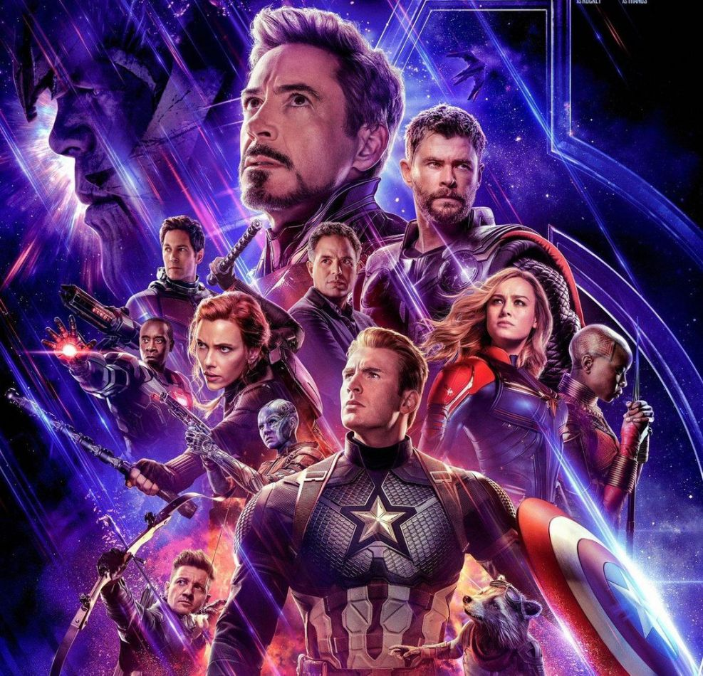 "Los superhéroes de ""Avengers: endgame"" se potencian por última vez"