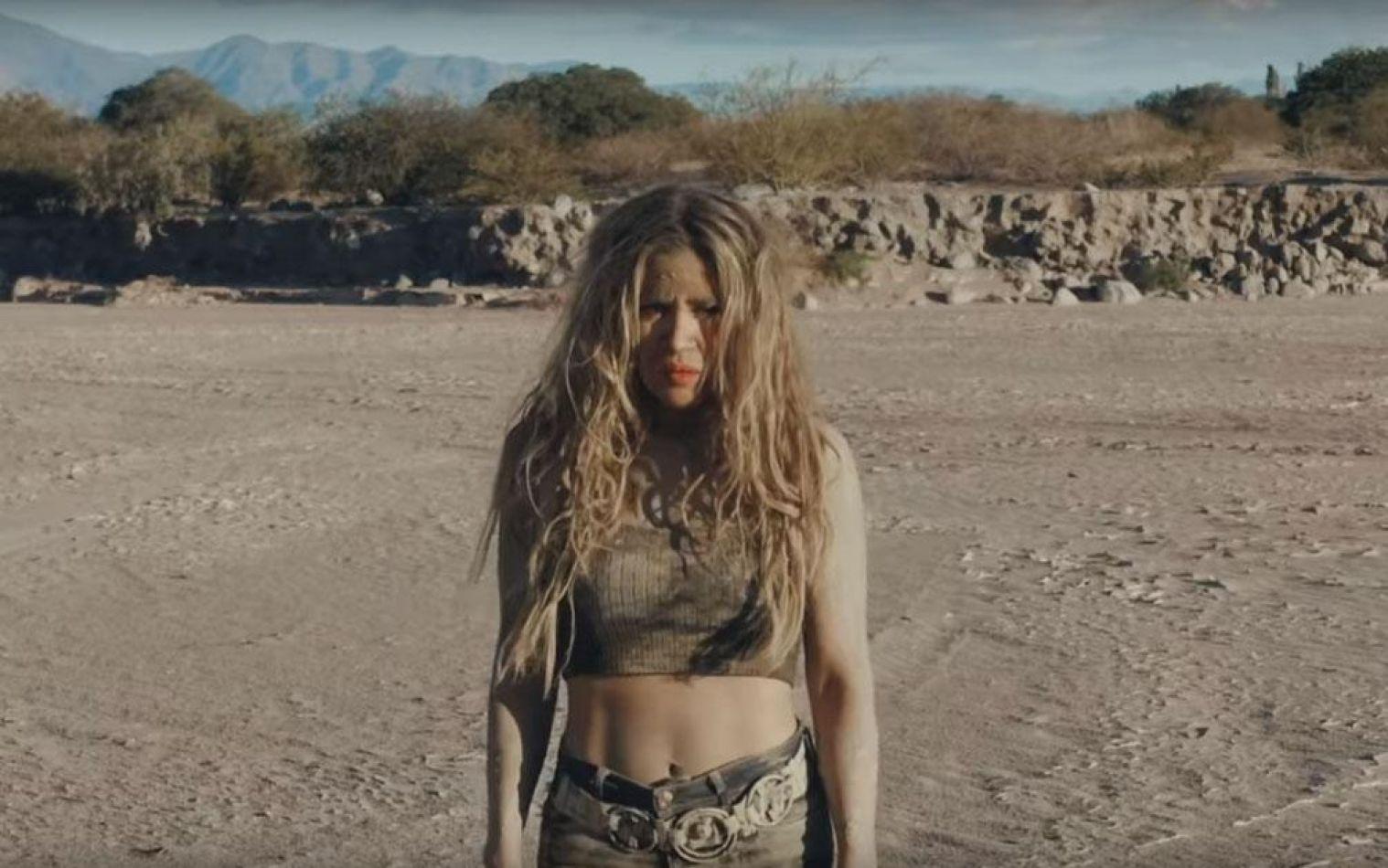 """Video: Jimena Barón lidera en Youtube con """"La cobra"""", el clip filmado en Cafayate"""