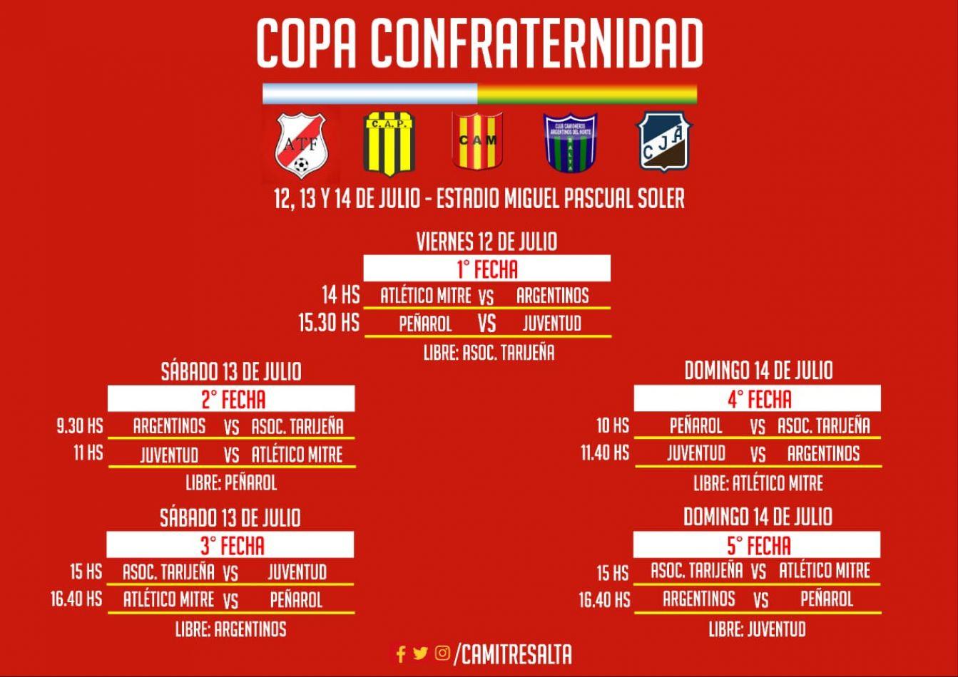 Se viene la Copa Confraternidad Solidaria