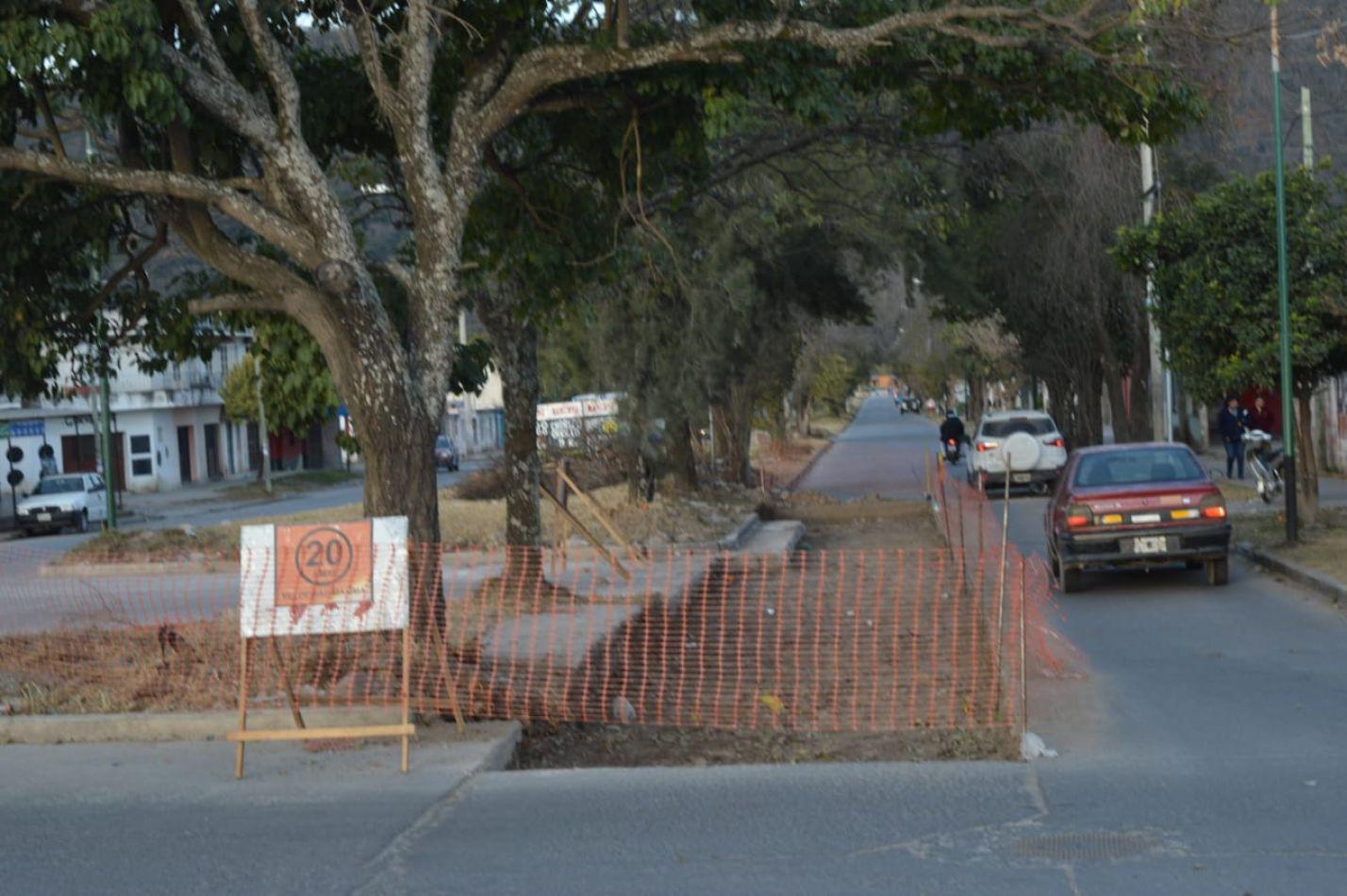 Más obras en los barrios: avanzan los trabajos en Castañares