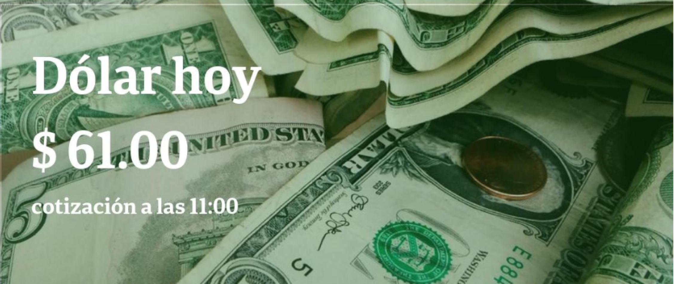 Dólar hoy: llega a $ 62 y el riesgo país toca su máximo en 10 años