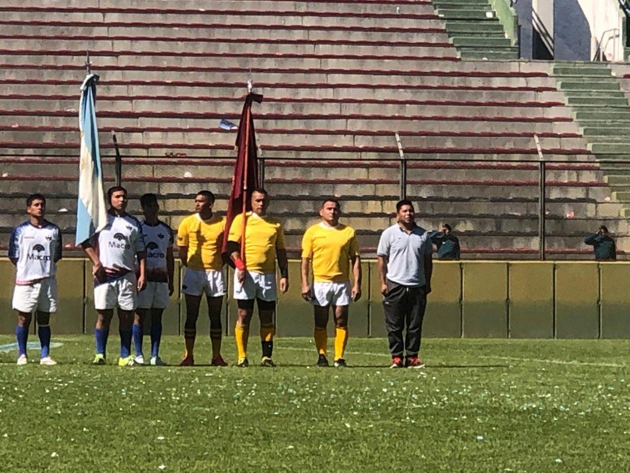 Internos de penales de Salta y Jujuy jugaron al rugby en el Martearena