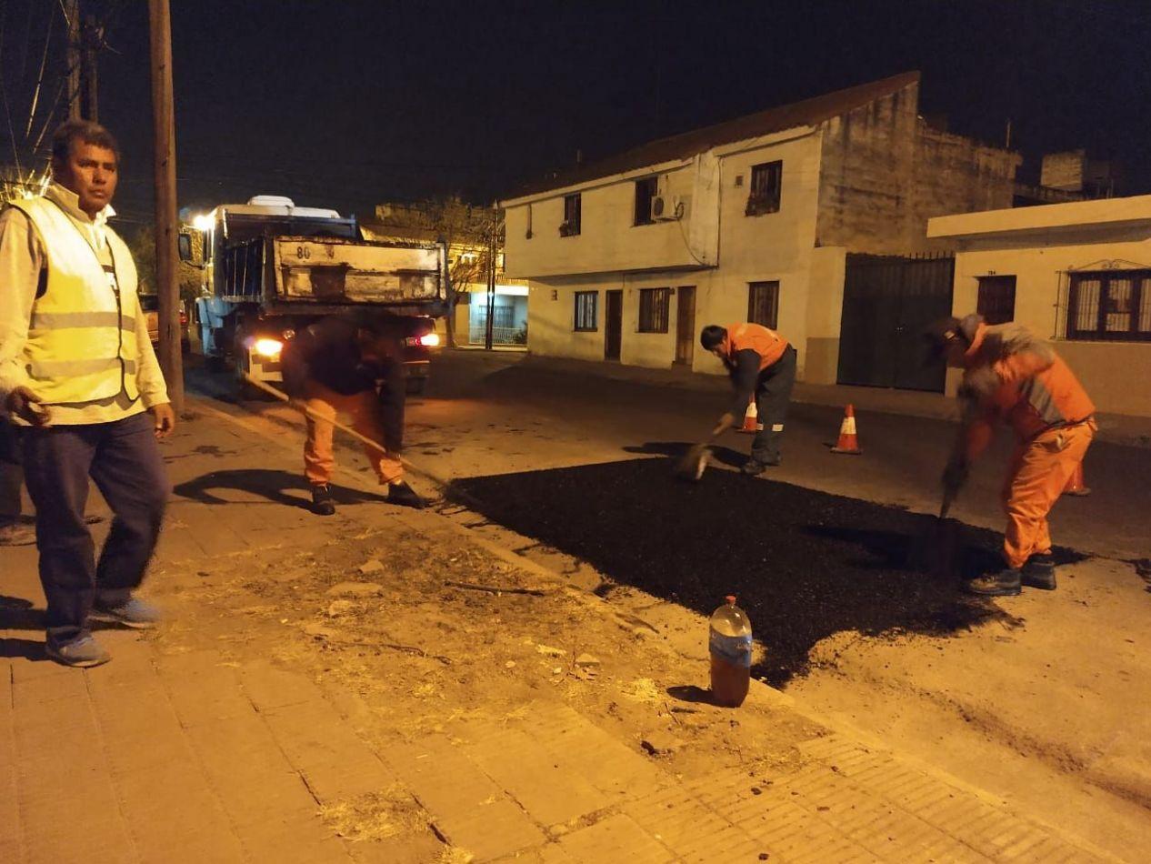 Intensifican los frentes de obras nocturnos