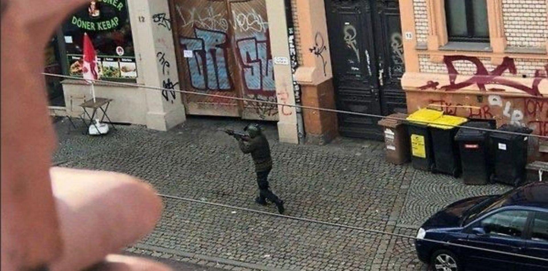 Apareció un video del tirador de Alemania durante su ataque
