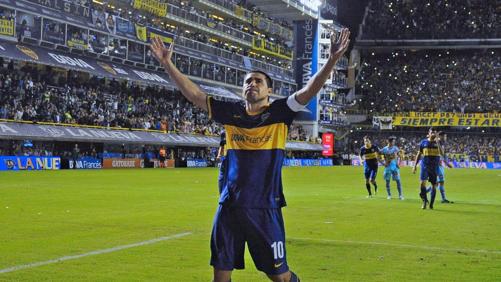 """Riquelme rompió el silencio y se refirió a la posibilidad de ser presidente de Boca: """"Si hay unión..."""""""