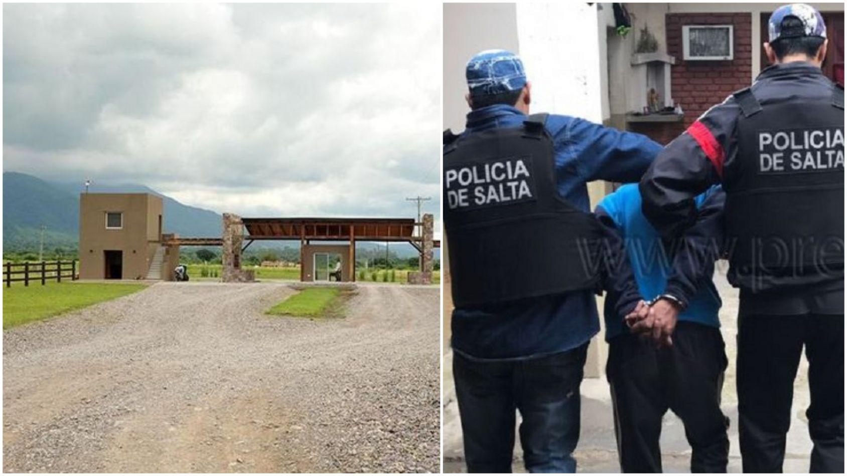 Detuvieron a un ladrón que atacaba a los vecinos de un barrio privado salteño