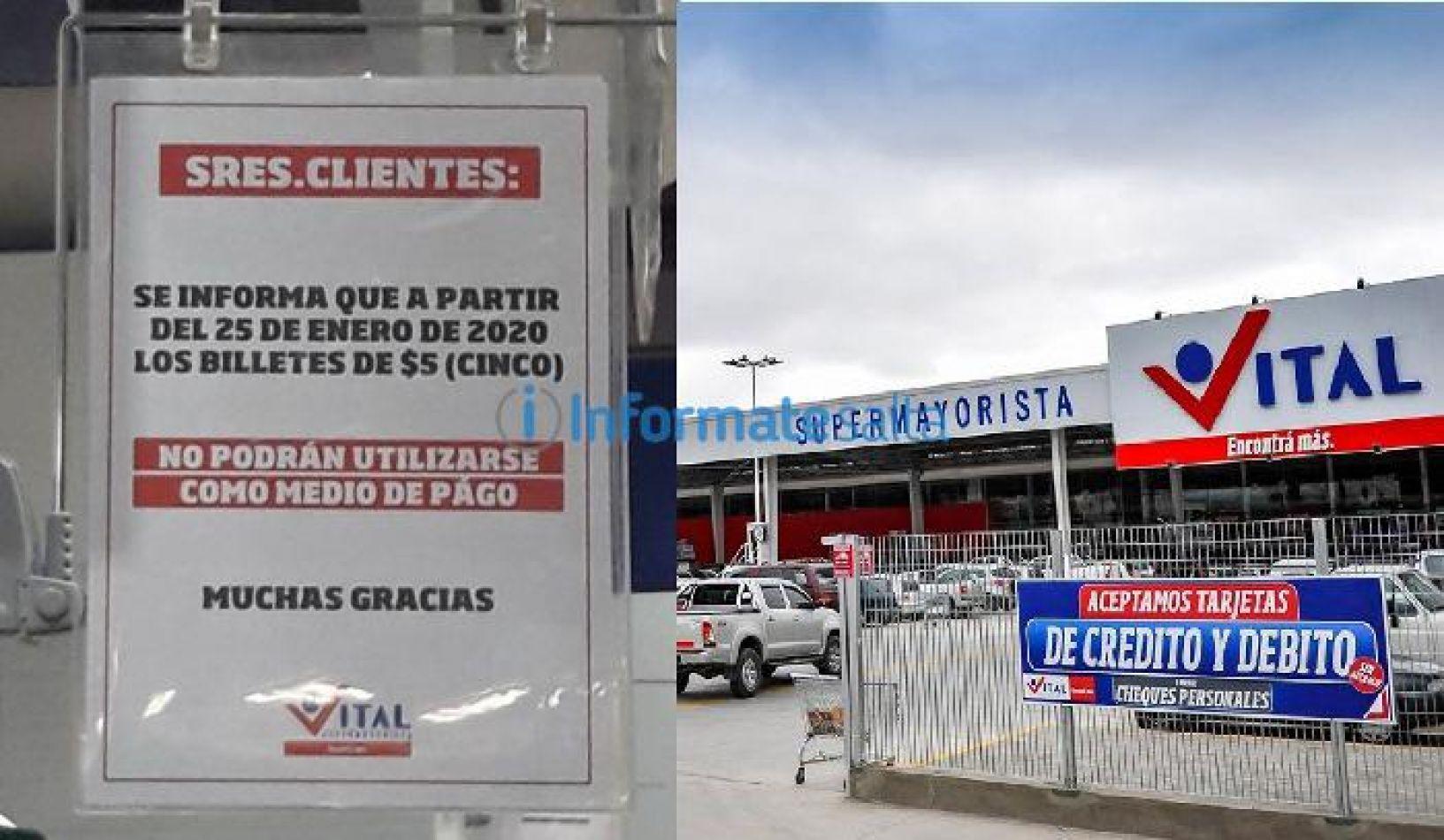 Un mayorista en Salta no recibirá billetes de $5 desde el 25 de enero, ¿es legal?