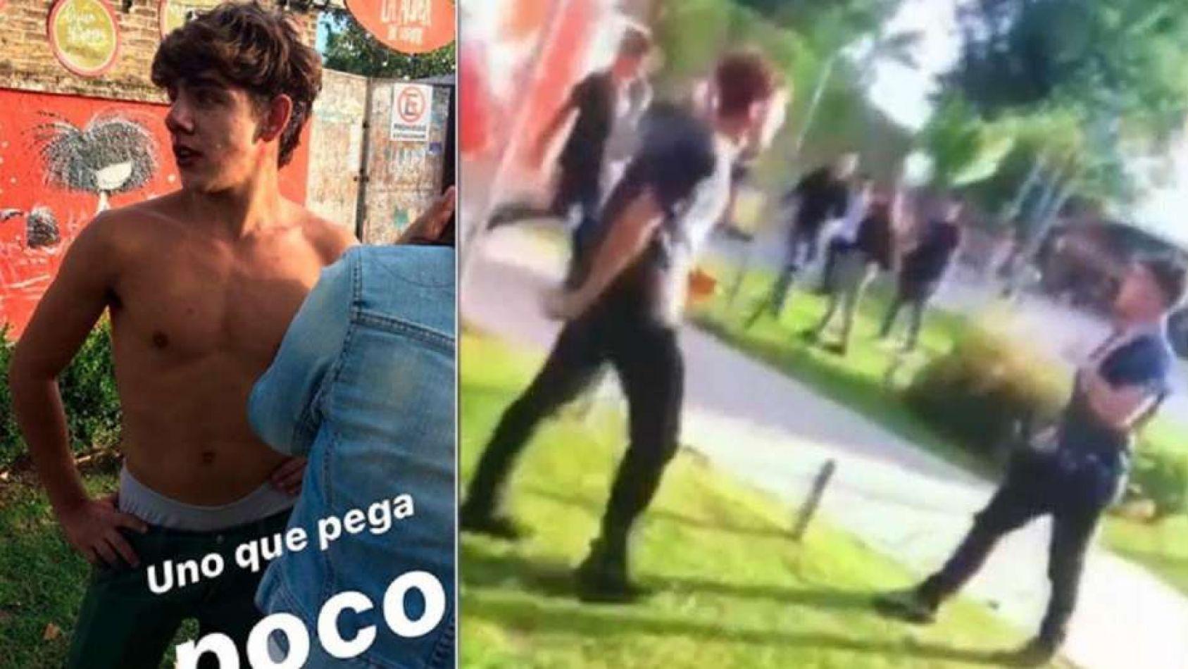 [VIDEO] El video inédito de los rugbiers asesinos: molieron a golpes a otro chico