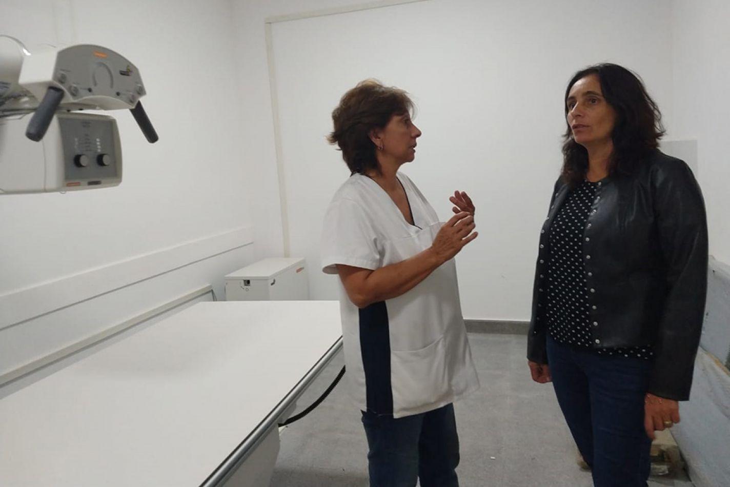 La ministra Medrano recorrió el hospital base del área operativa Aguaray