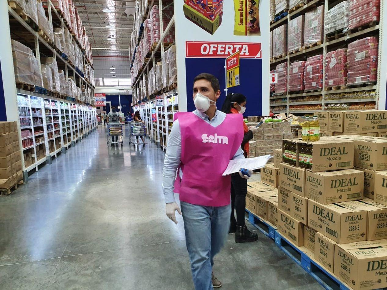 Intensifican los controles de precios en supermercados y centros de compras