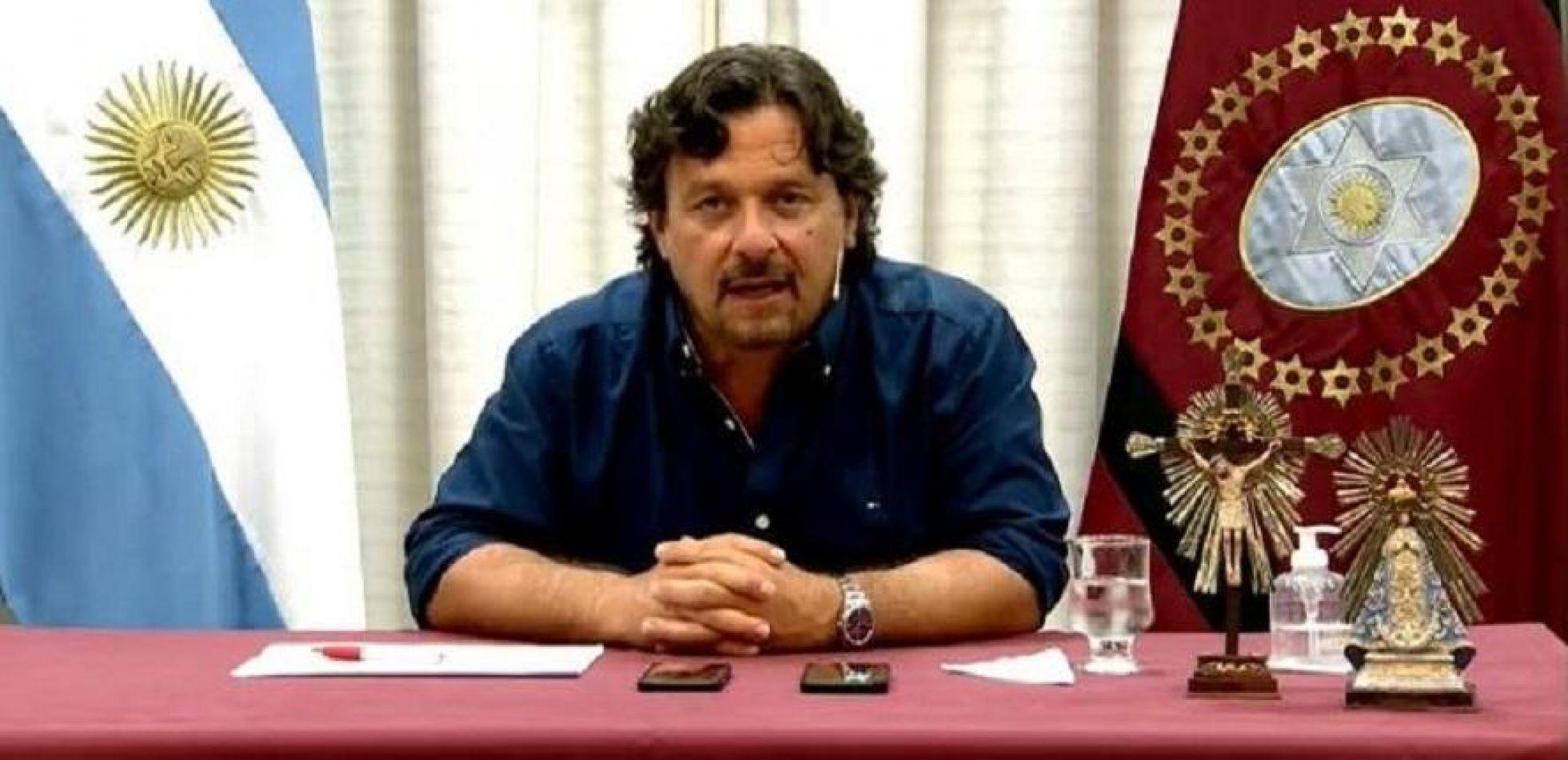 Gustavo Sáenz anunció la creación de un Fondo Solidario para luchar contra el Covid-19