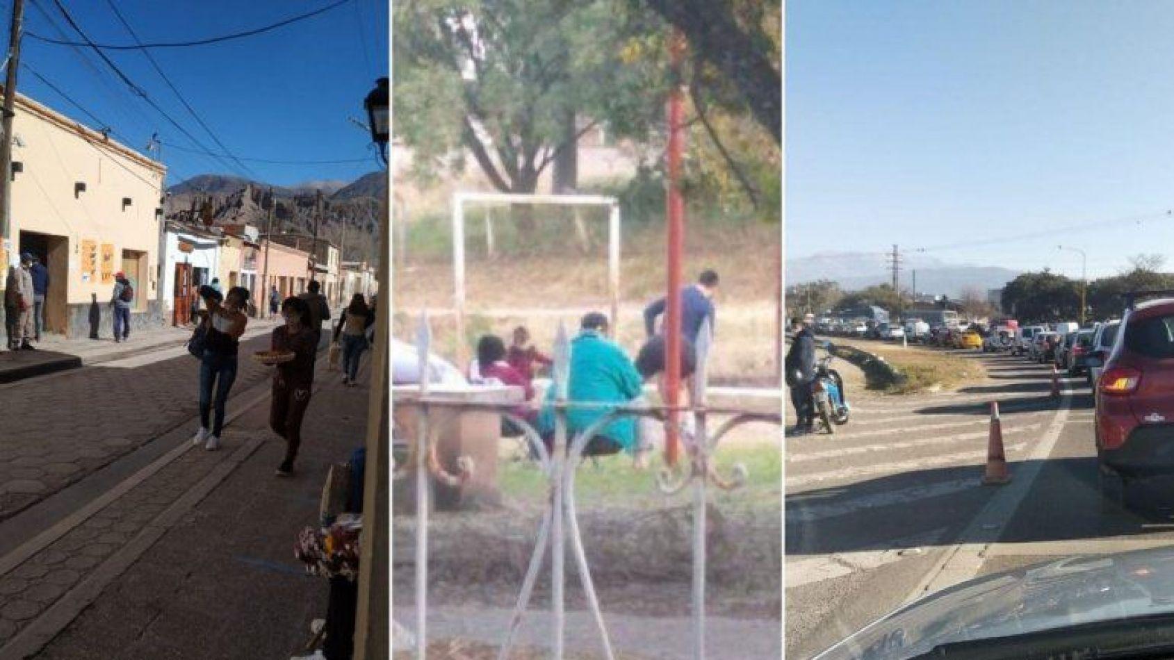 Pese a la vuelta a Fase 1, en Jujuy violaron lo decidido por Morales