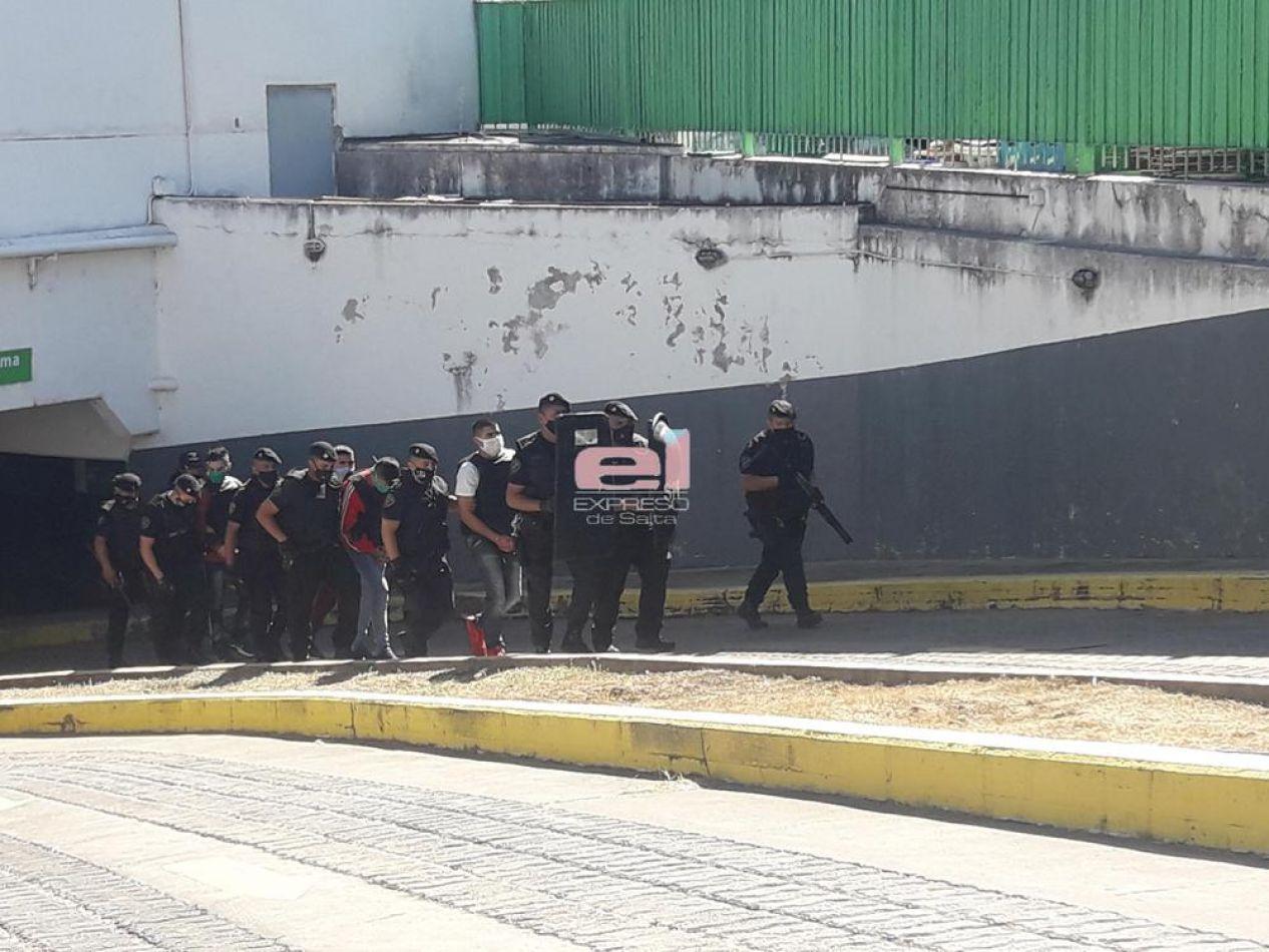 Caso Sandra Palomo: se realizó la reconstrucción del hecho en B° Tres Cerritos