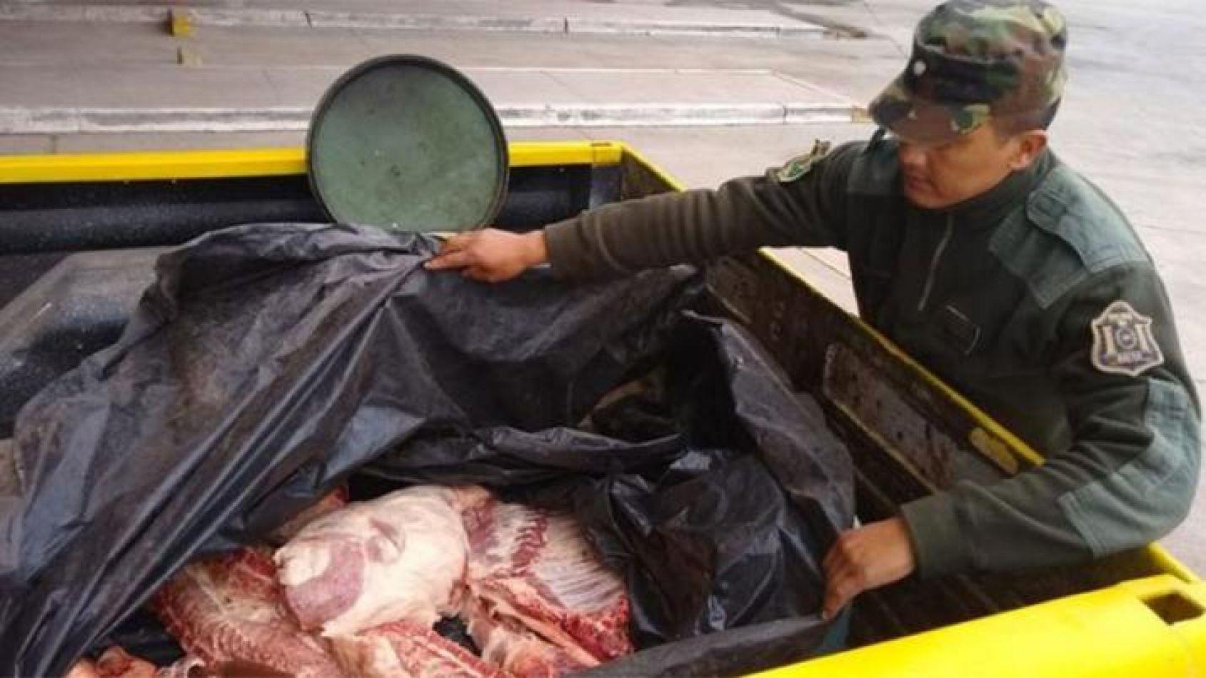 Secuestraron cerca de 180 kilos de carne no apta para el consumo humano