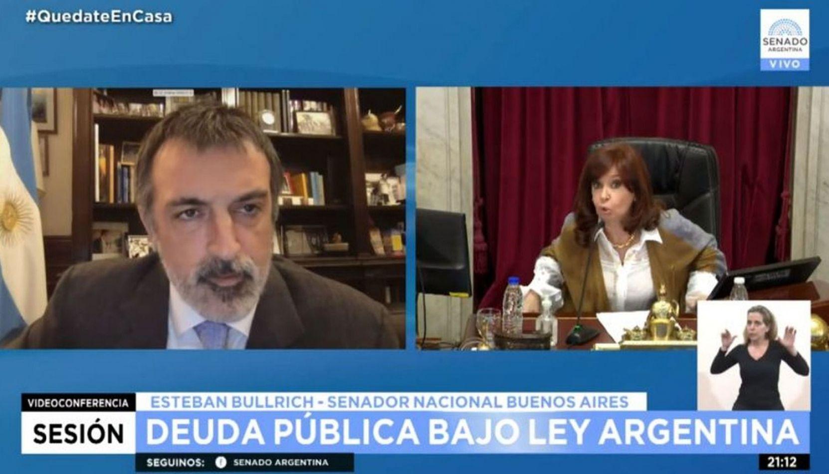 VIDEO Lo hizo otra vez: Cristina Kirchner le cortó el micrófono a un opositor