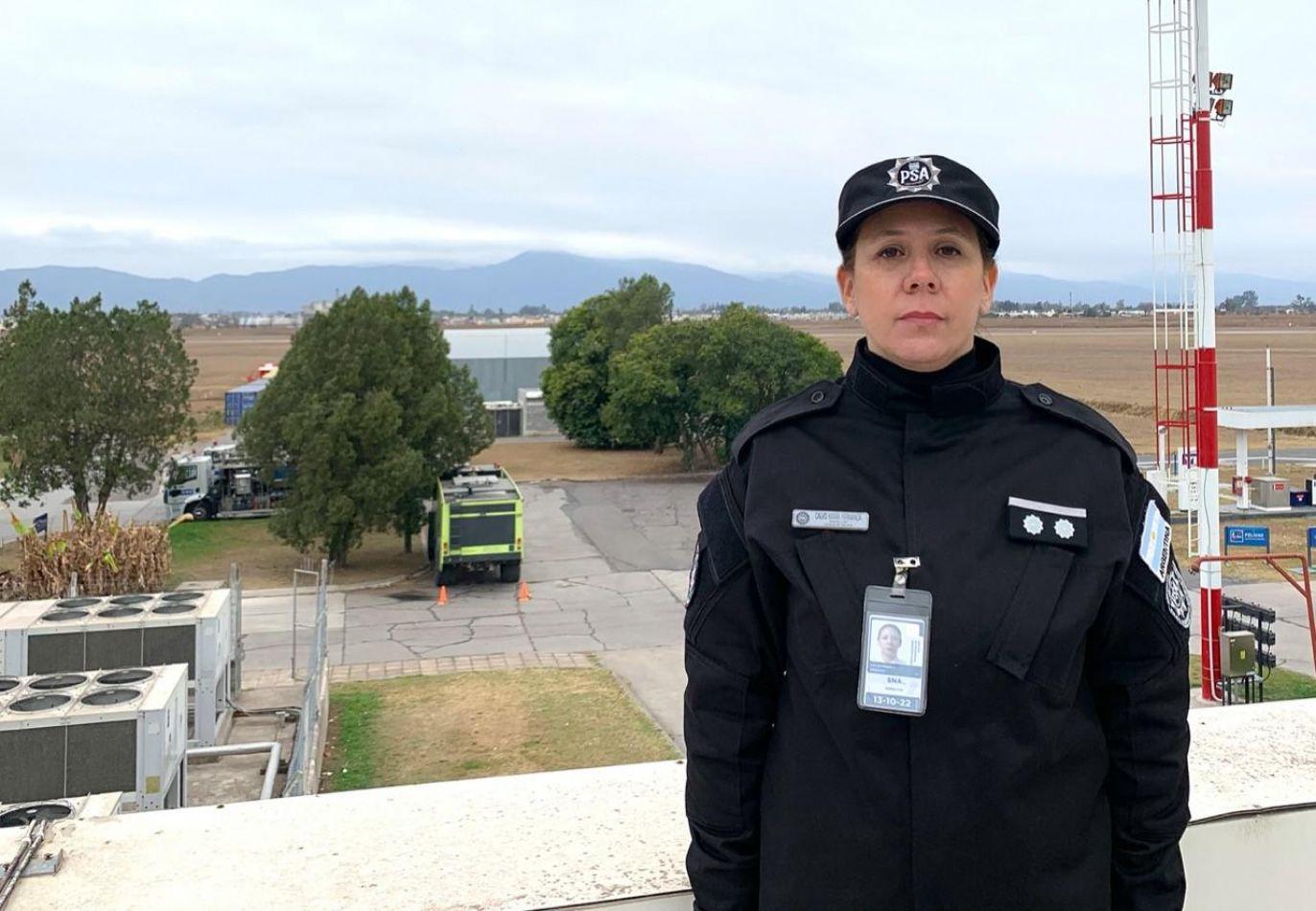 La Policía de Seguridad Aeroportuaria designó a una salteña como la nueva jefa en Salta