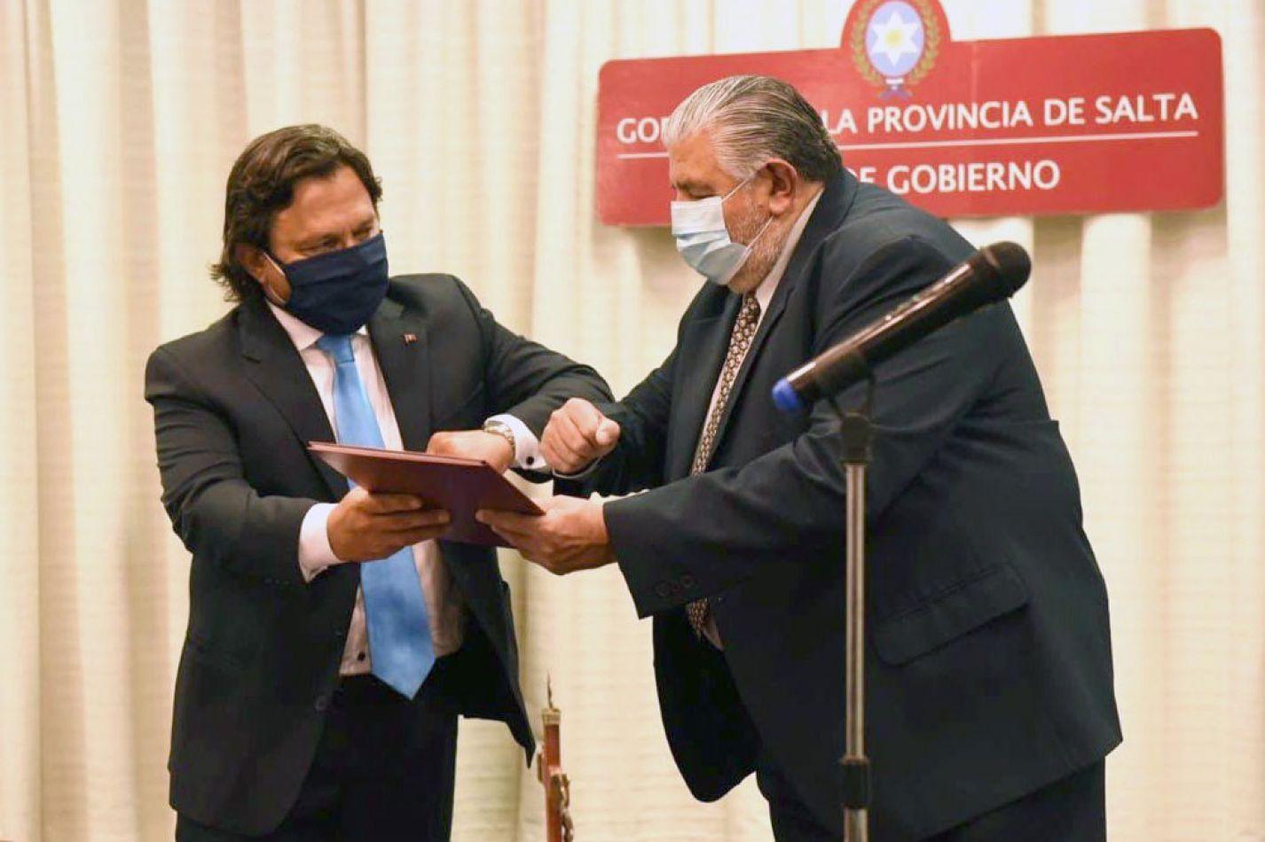 Asumió Juan José Esteban como nuevo Ministro de Salud Pública de la provincia de Salta