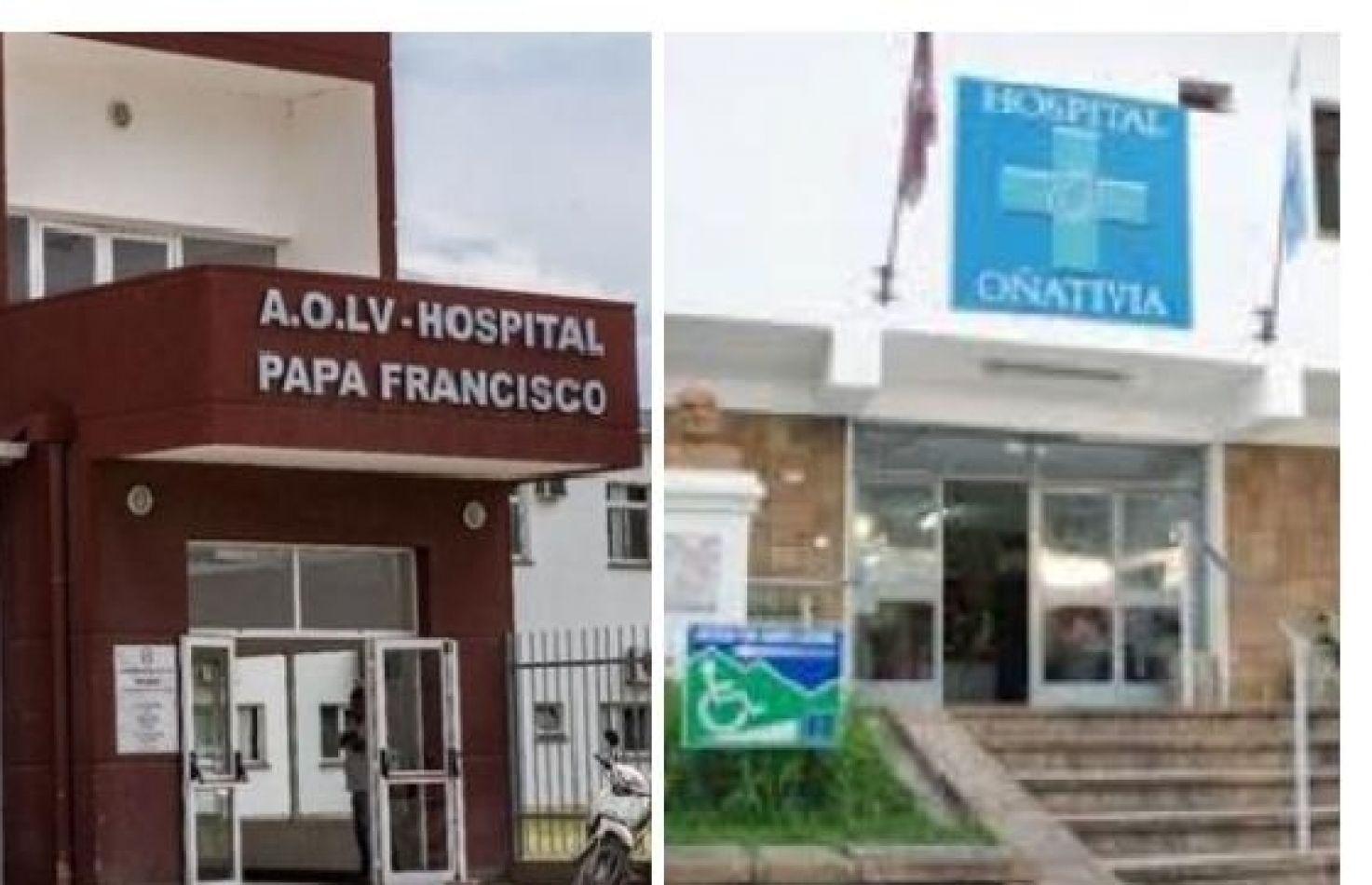Los hospitales Papa Francisco y Oñativia amplían las unidades de terapia intensiva