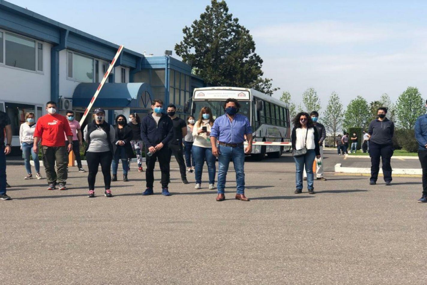 Llegaron profesionales de la Salud y equipamiento enviado por la Nación con destino a Orán