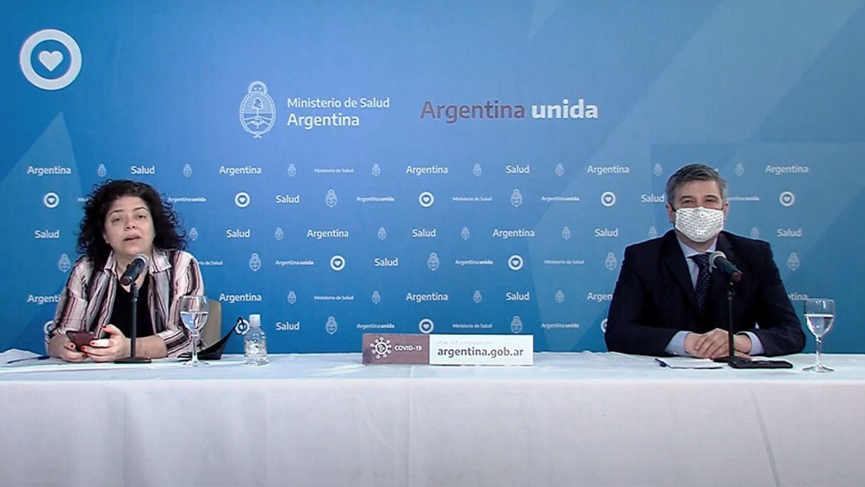 Reporte Argentina: Informan 43 nuevos fallecimientos y son 11.710 los muertos