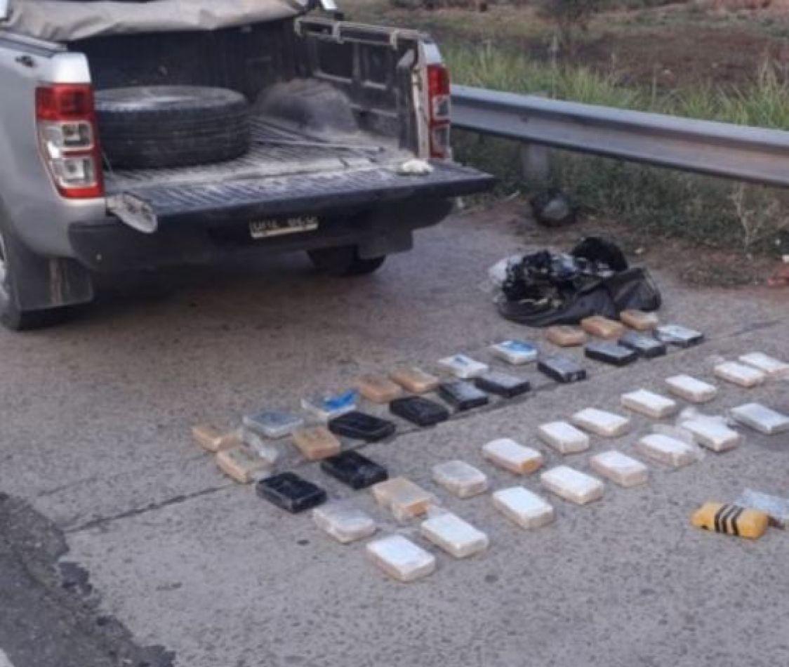 Exitosos operativos contra el narcotráfico en los departamentos Orán y San Martín