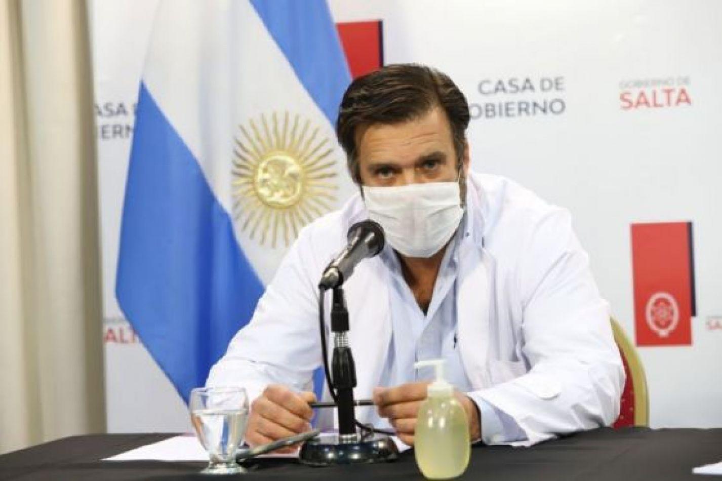 """Aguilar: """"La gente tiene que tomar conciencia, estamos en pandemia y esto no ha terminado"""""""