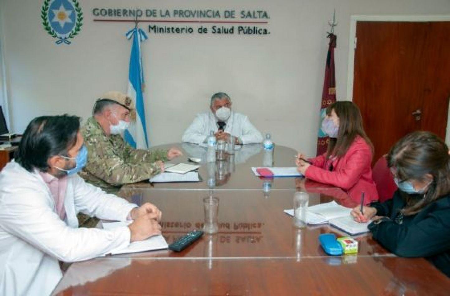 El Ejército se puso a disposición de Salud Pública para apoyar en la campaña de vacunación