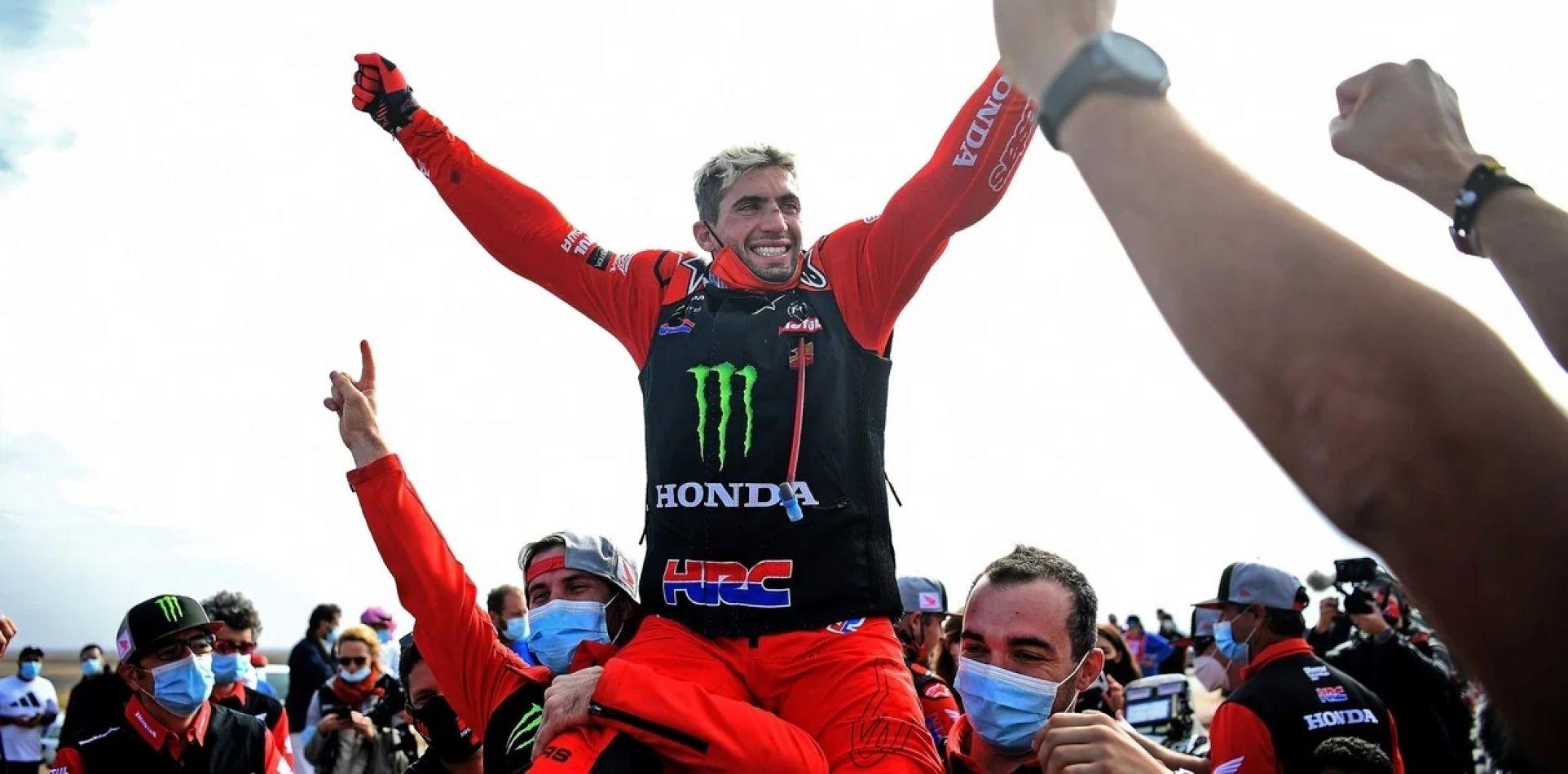 Histórico: el salteño Kevin Benavides ganó el Rally Dakar en la categoría motos