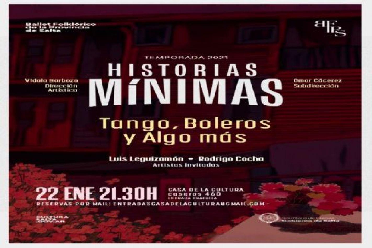 """Presentación del Ballet Folklórico: """"Entre tangos, boleros y algo más..."""""""