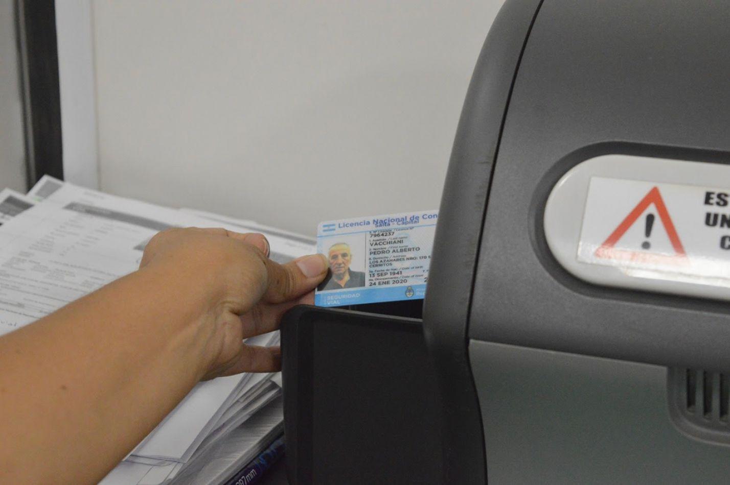 Se habilitaron los turnos para tramitar en febrero la licencia de conducir