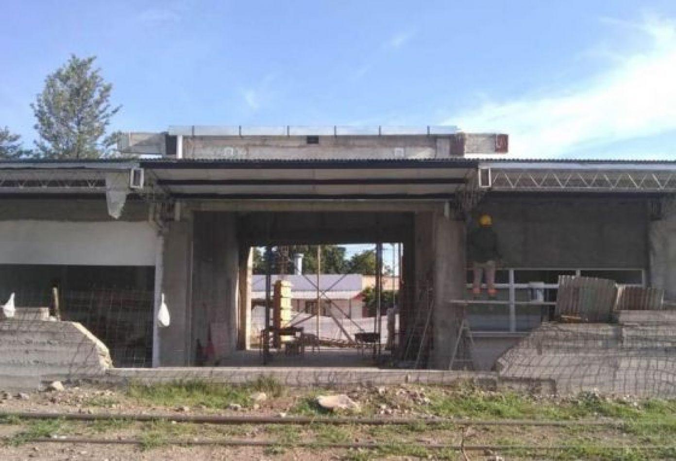 Reanudaron las obras de construcción de la terminal de ómnibus de El Bordo
