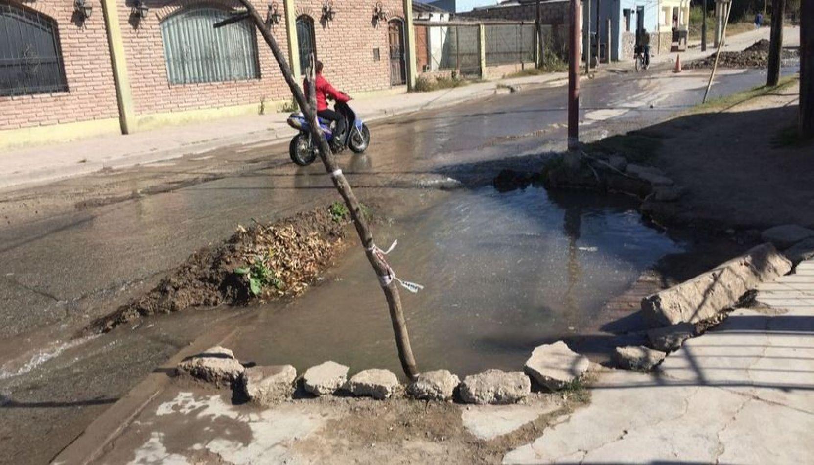 """Un tercio de las cañerías de Aguas del Norte está """"totalmente destruida"""""""