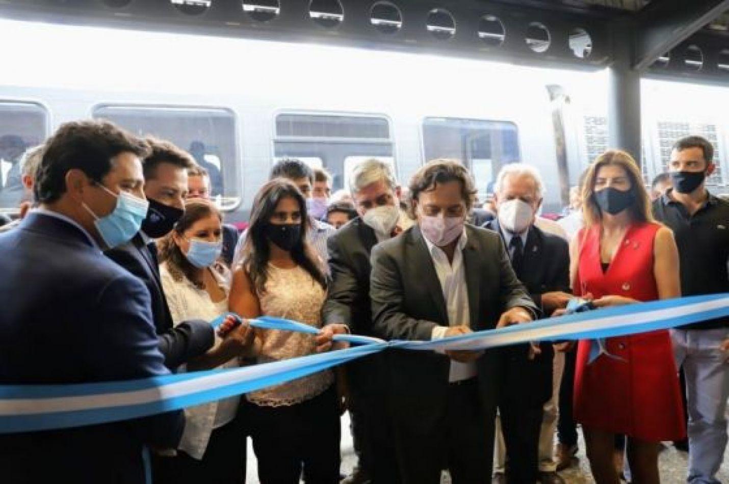 Con el recorrido Salta – Quijano el tren urbano realizó su primer viaje de prueba