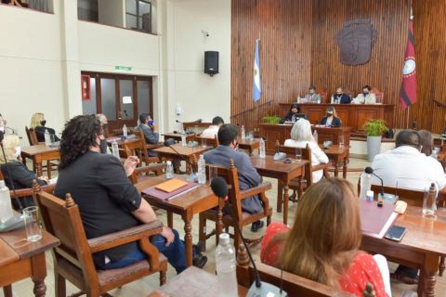 Darío Madile fue ratificado como presidente del Concejo Deliberante
