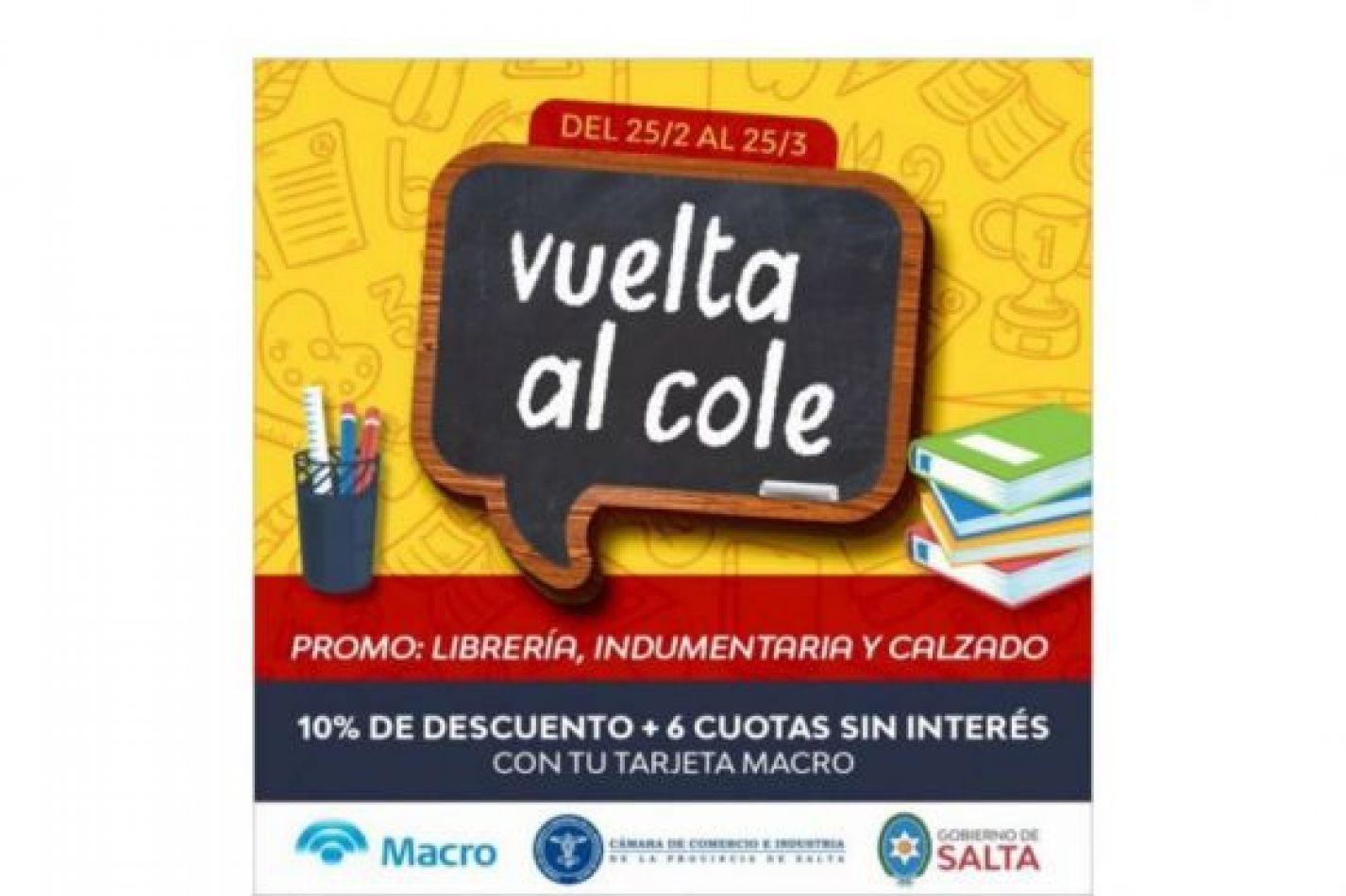 """Continúa la promoción """"Vuelta al cole"""" hasta el 25 de este mes"""
