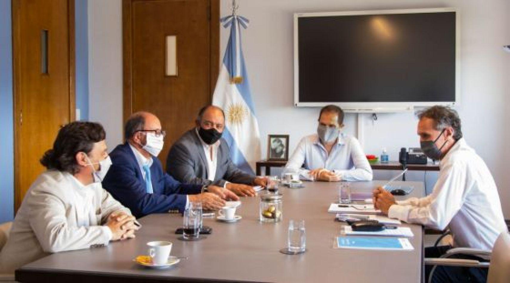 El gobernador Sáenz presentó a Nación nuevos proyectos de obras para Salta