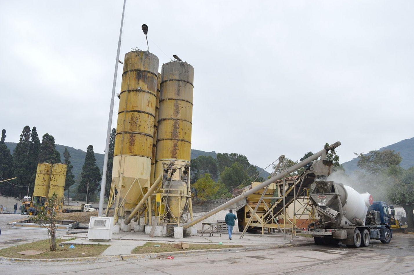 La Municipalidad denunció a empleados de la Planta Hormigonera por robo