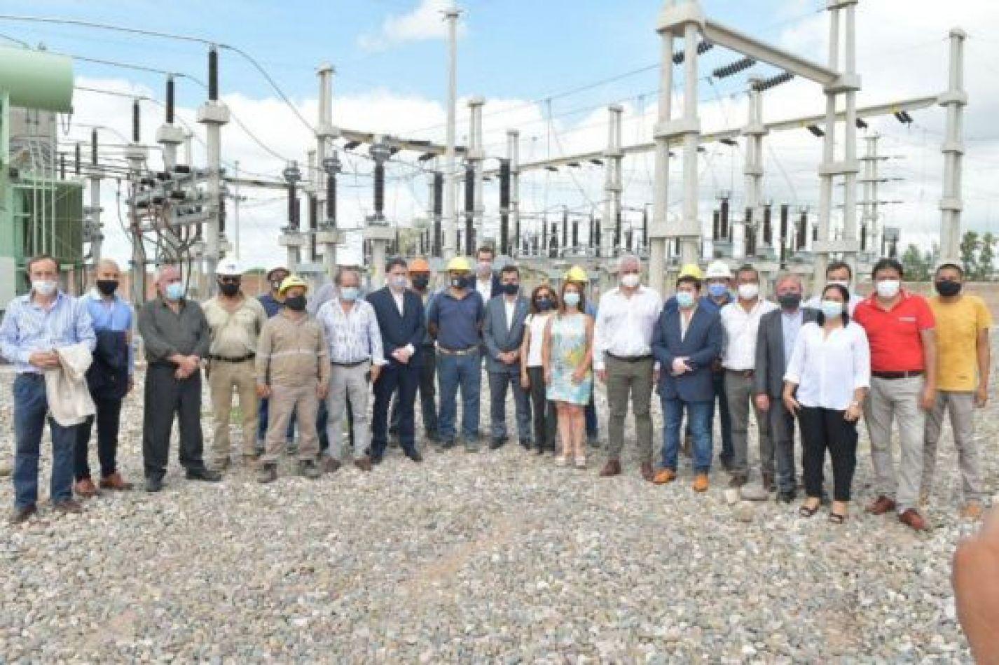 Provincia y Nación concretaron la puesta en funcionamiento de la Estación Eléctrica de Pichanal