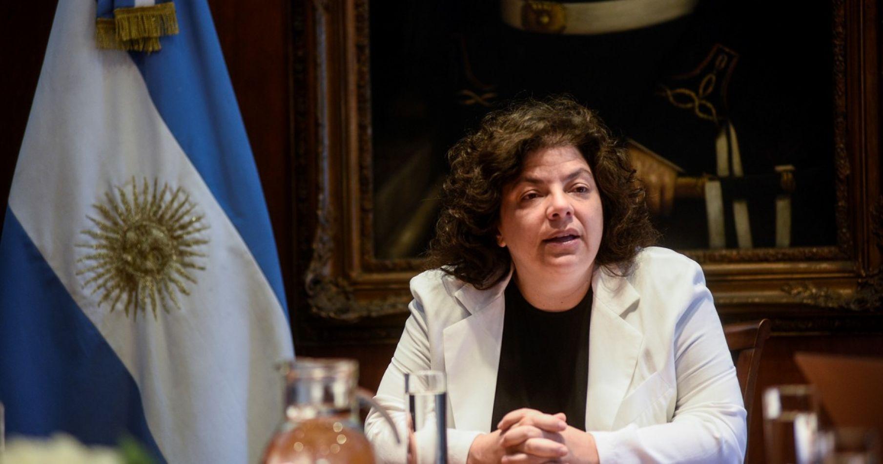 Carla Vizzotti confirmó que fue Ginés González García quien ordenó vacunar al ex presidente Eduardo Duhalde en su casa