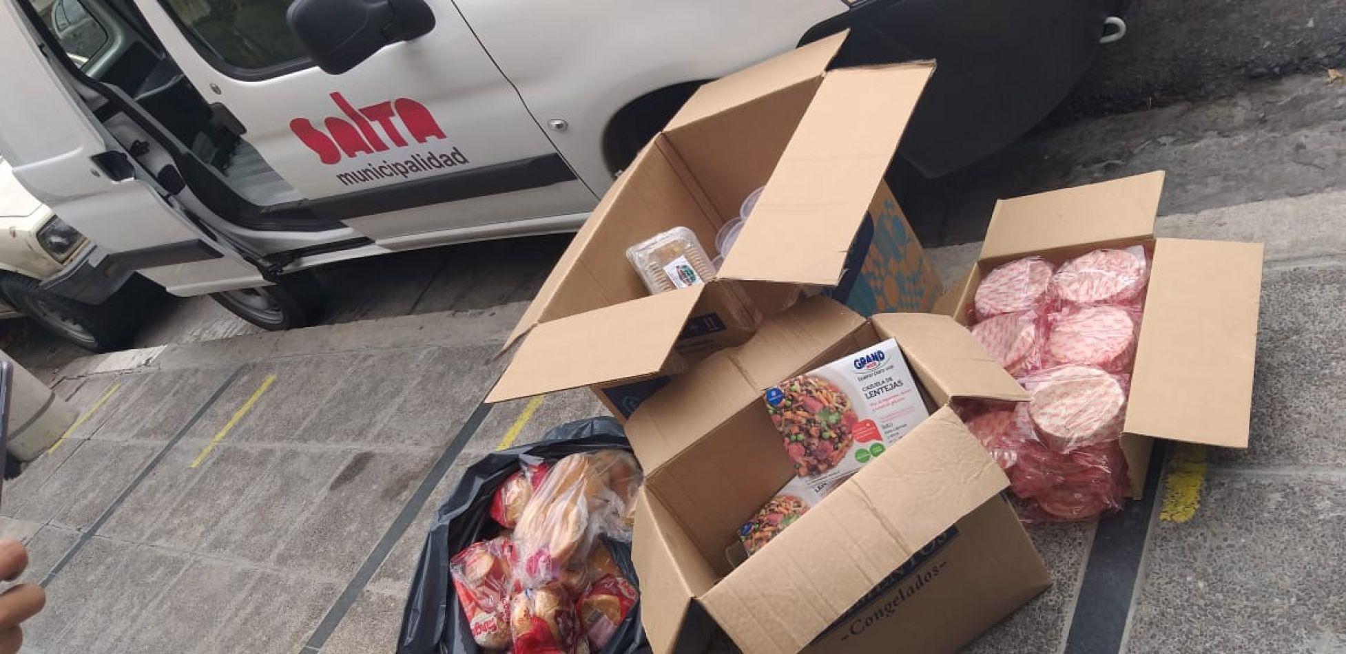 Control Comercial decomisó insumos de comida rápida en la zona Norte de la ciudad