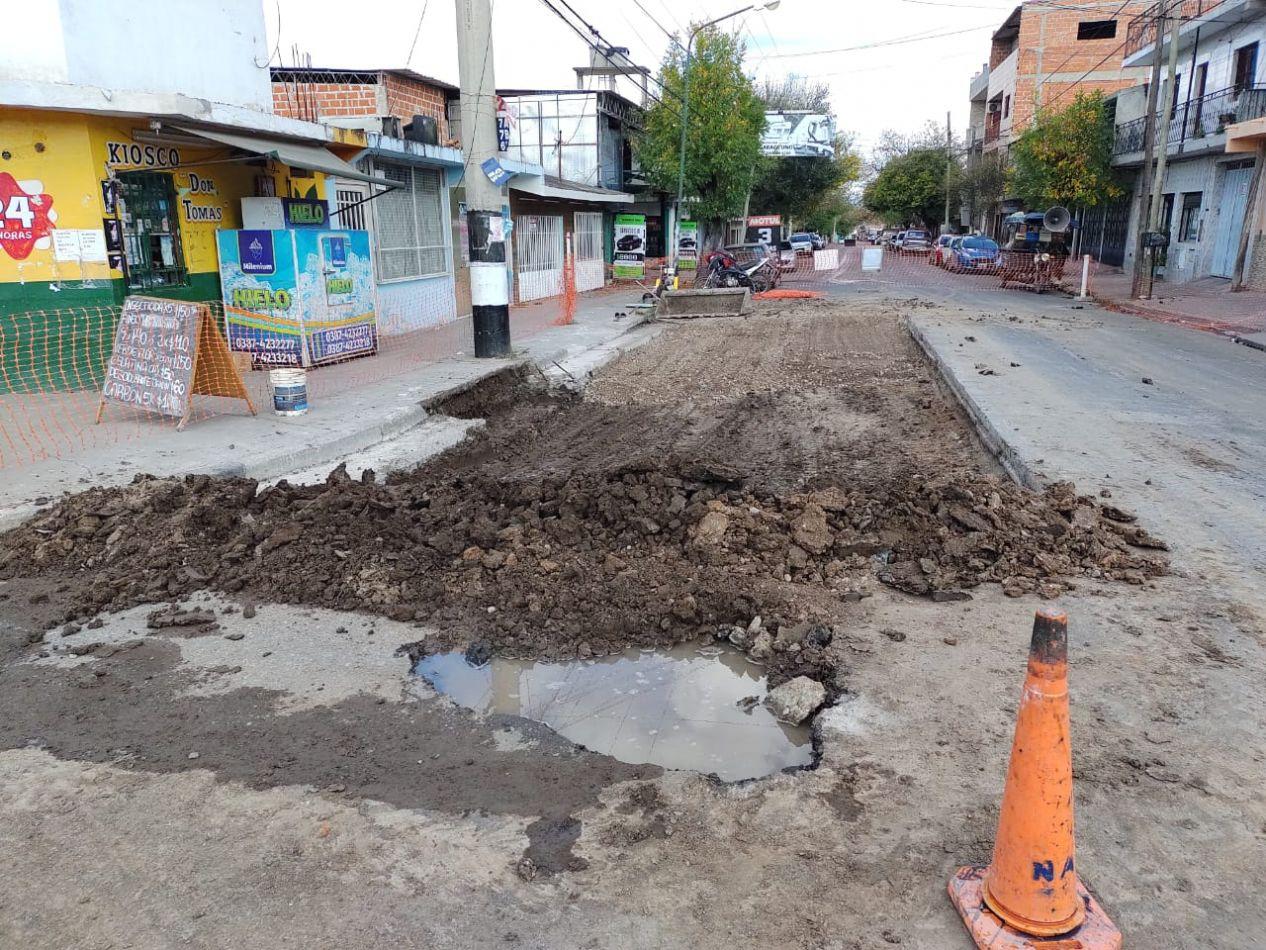 La Municipalidad efectuó más de 180 notificaciones por aperturas en calzada y pérdidas de agua