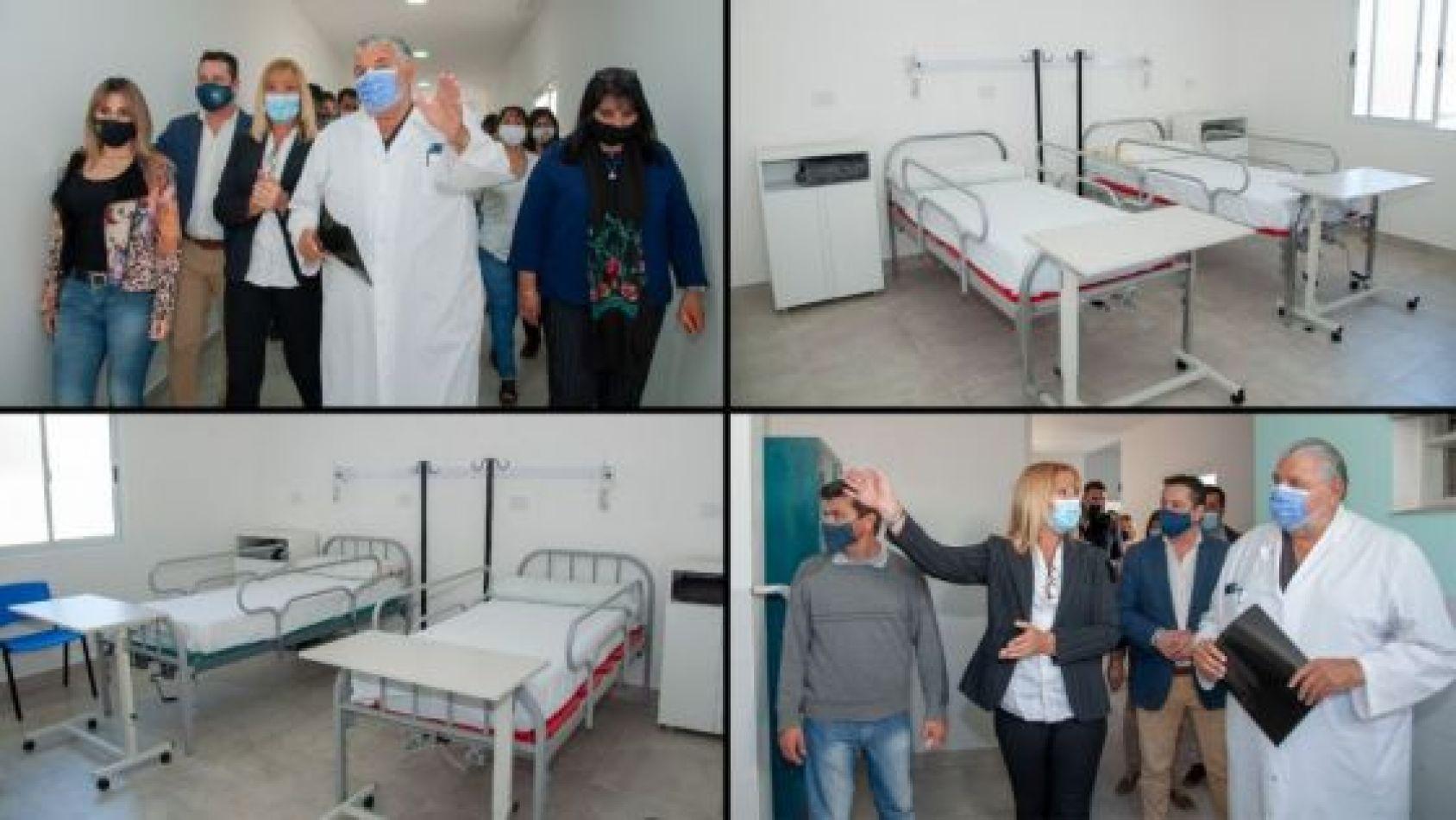 Inauguraron un módulo sanitario Covid-19 en Campo Quijano