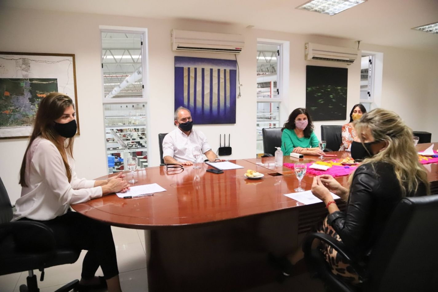 Bettina Romero se reunió con la Cámara de Desarrolladores Inmobiliarios de Salta