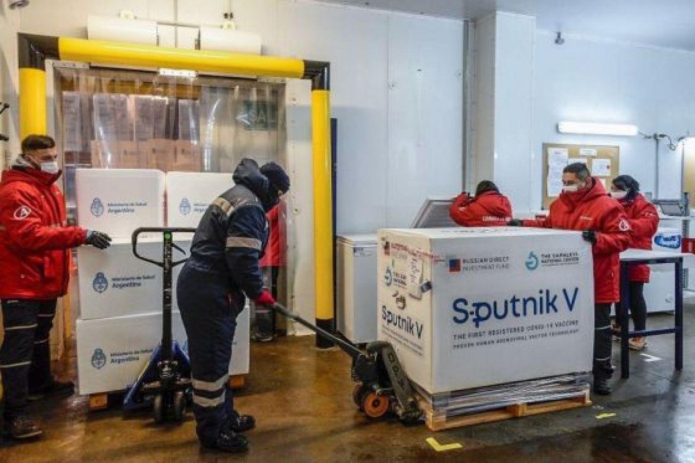 La Provincia recibió una nueva partida del primer componente de la Sputnik V