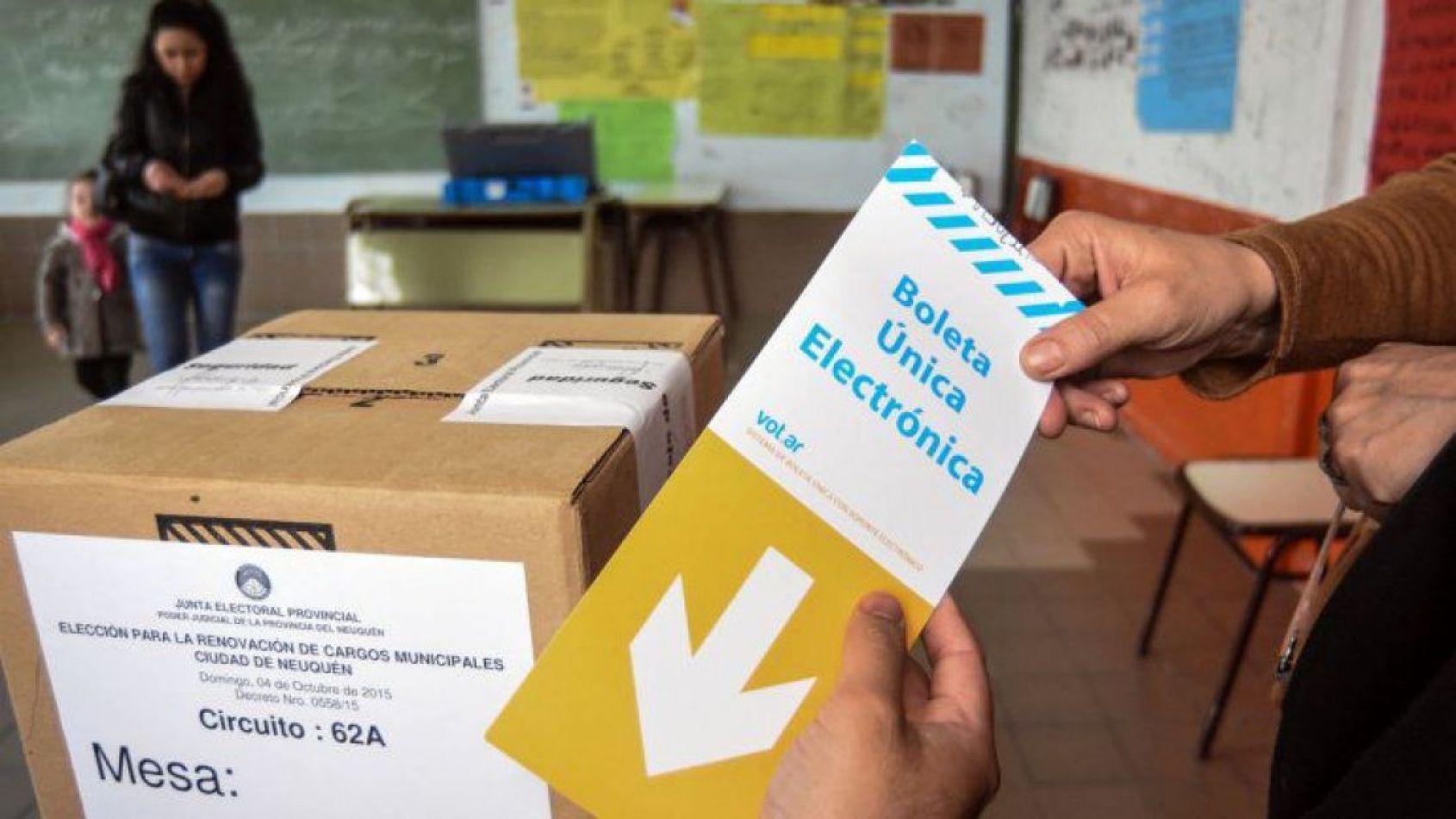 Siete alianzas se presentaron para participar de las elecciones provinciales