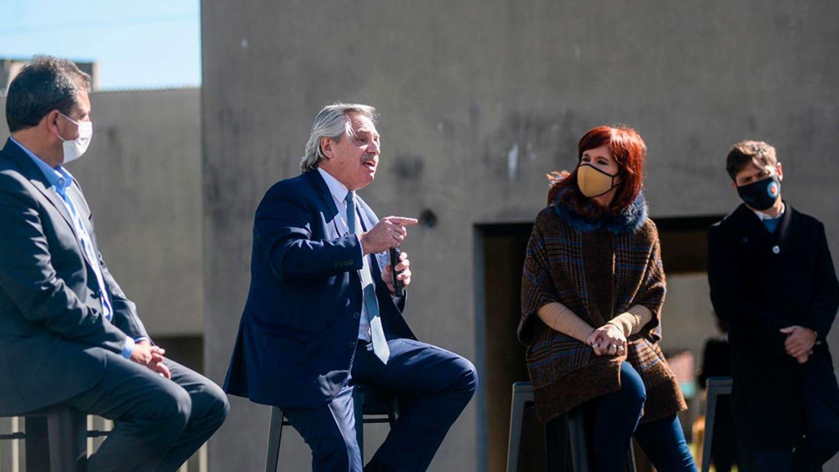 """Fernández a la Justicia: """"No usen las sentencias para favorecer a un candidato, eso los degrada"""""""