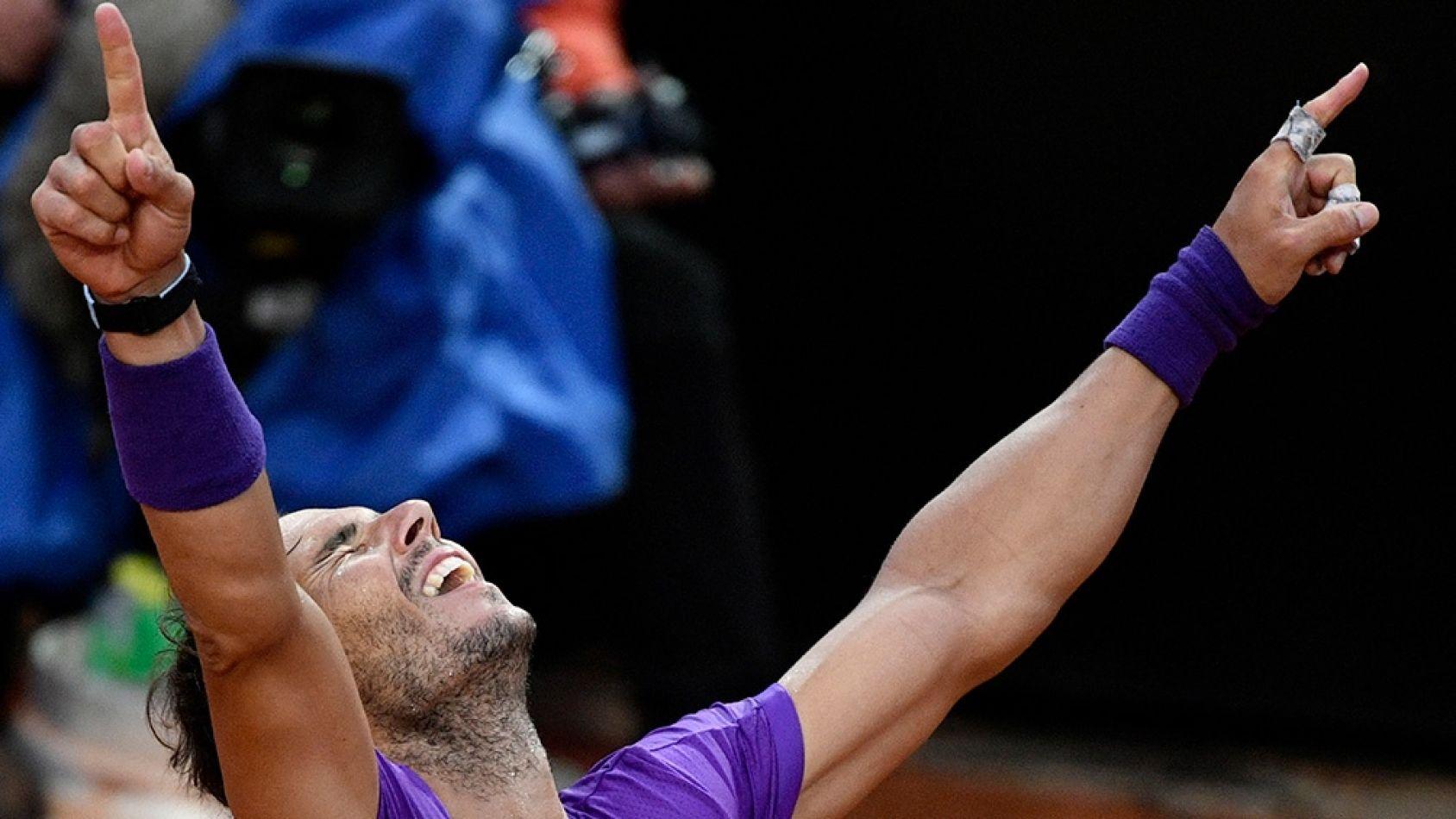 Nadal venció a Djokovic y ganó el Masters 1000 de Roma