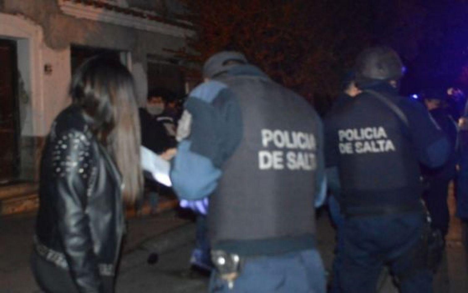 Este fin de semana se clausuraron 24 fiestas clandestinas en operativos de seguridad sanitaria